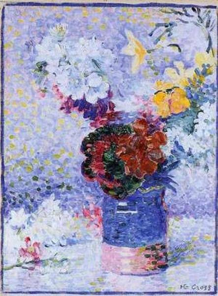 Flowers in a glass 1904 07 xx musee baron berard bayeux france